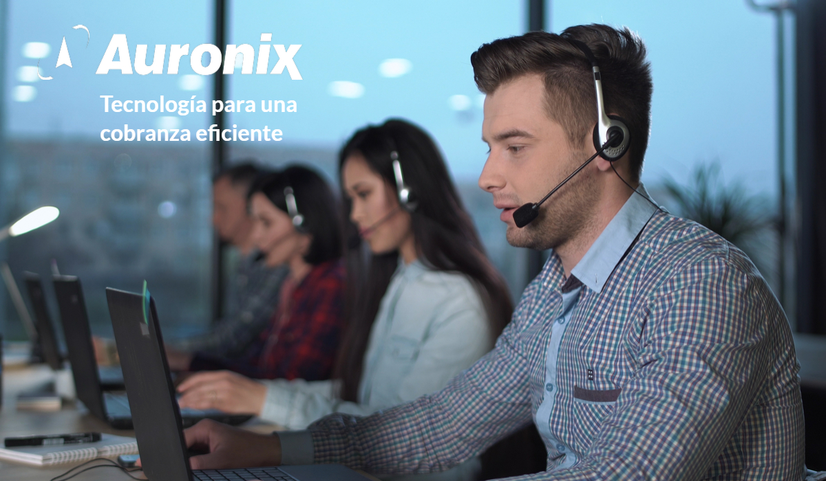 Auronix Tecnologia para Cobranza Eficiente