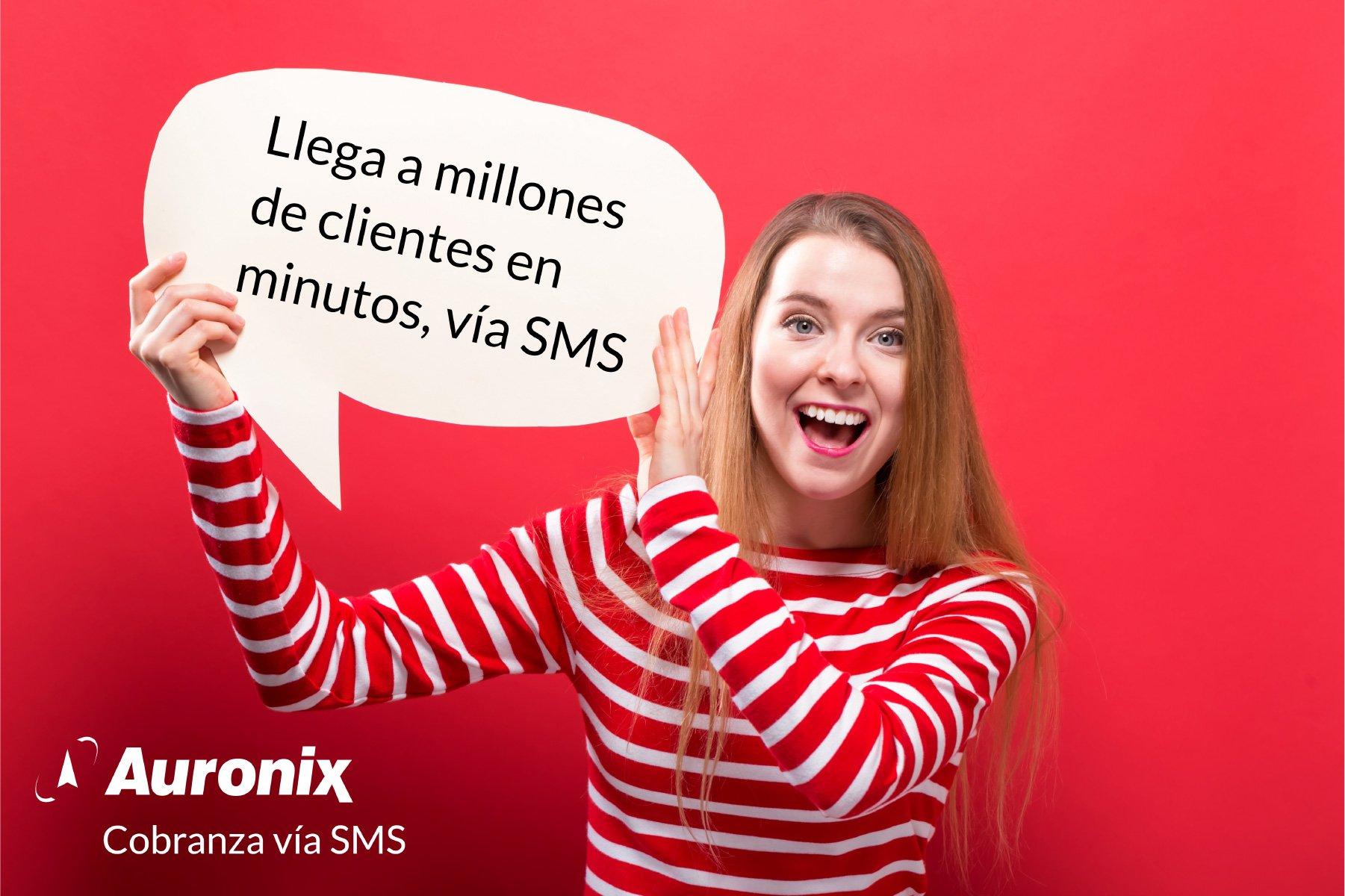 Millones de SMS por minuto con Calixta para cobranza