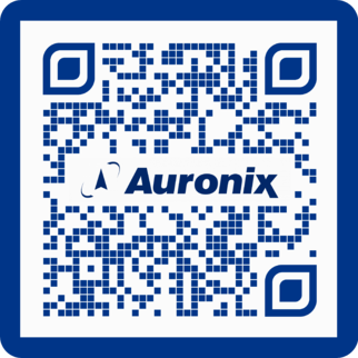 WhatsApp QR code for Auronix
