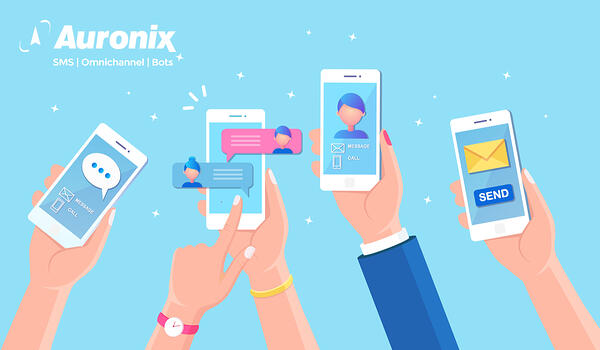 auronix comunicación masiva al móvil