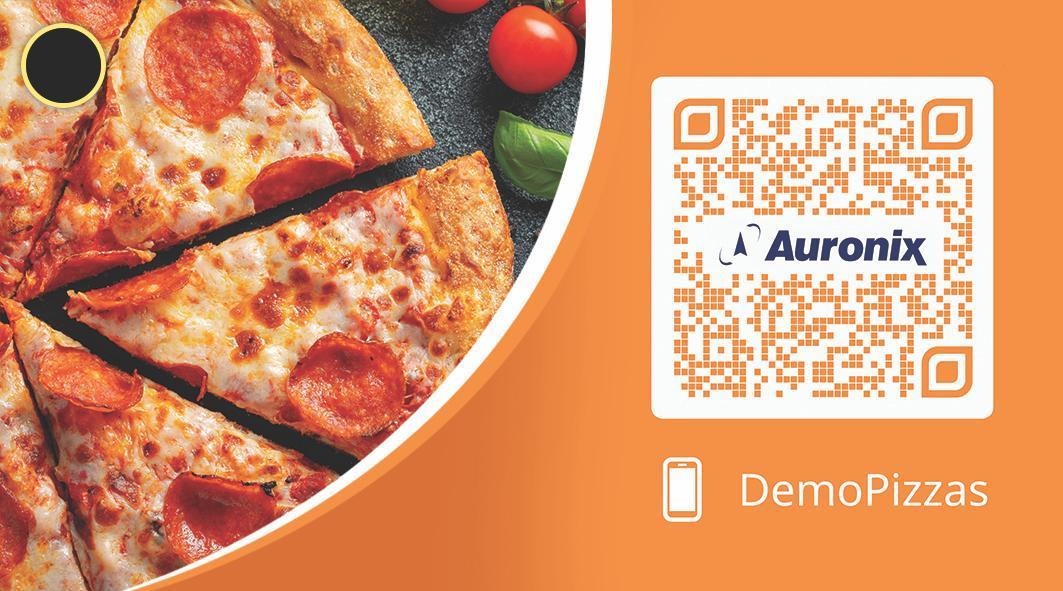 auronix demo pizzas