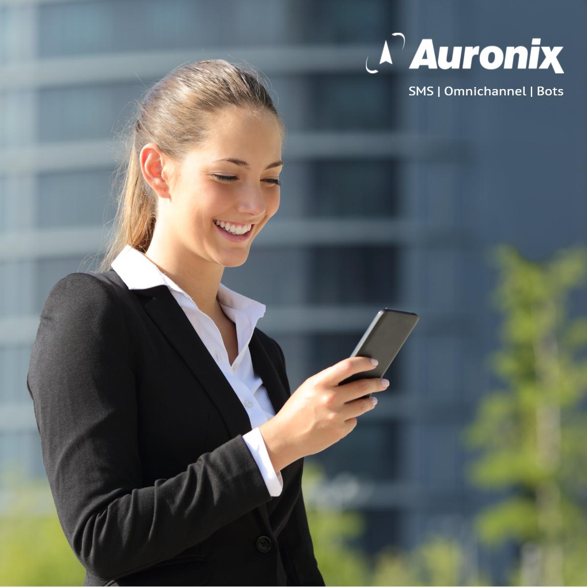 auronix sms omnichannel bots