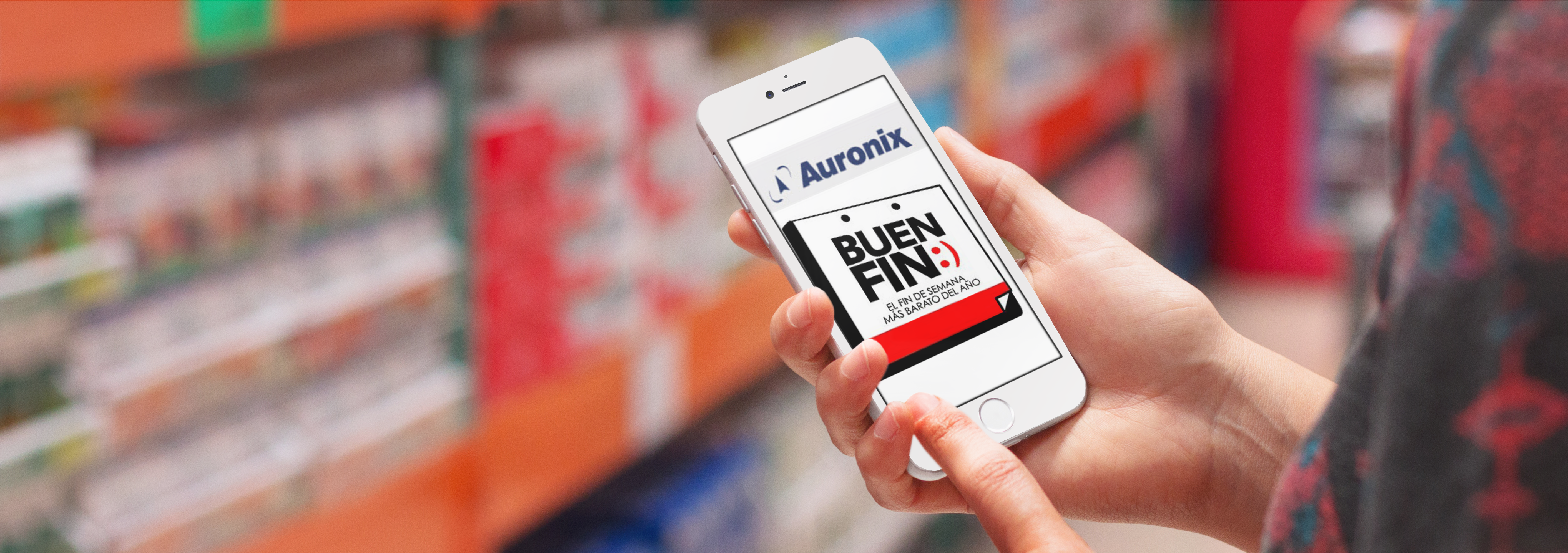 Auronix Buen Fin SMS