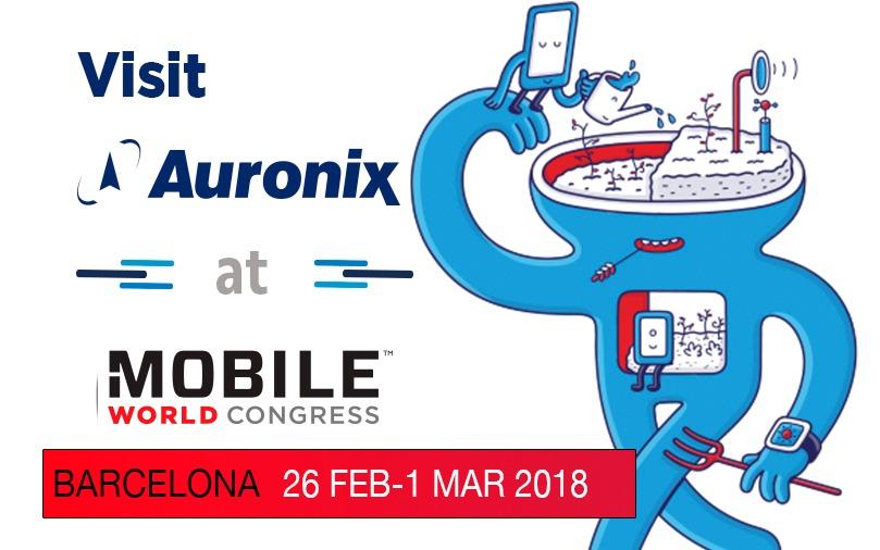 Auronix-MWC-Barcelona
