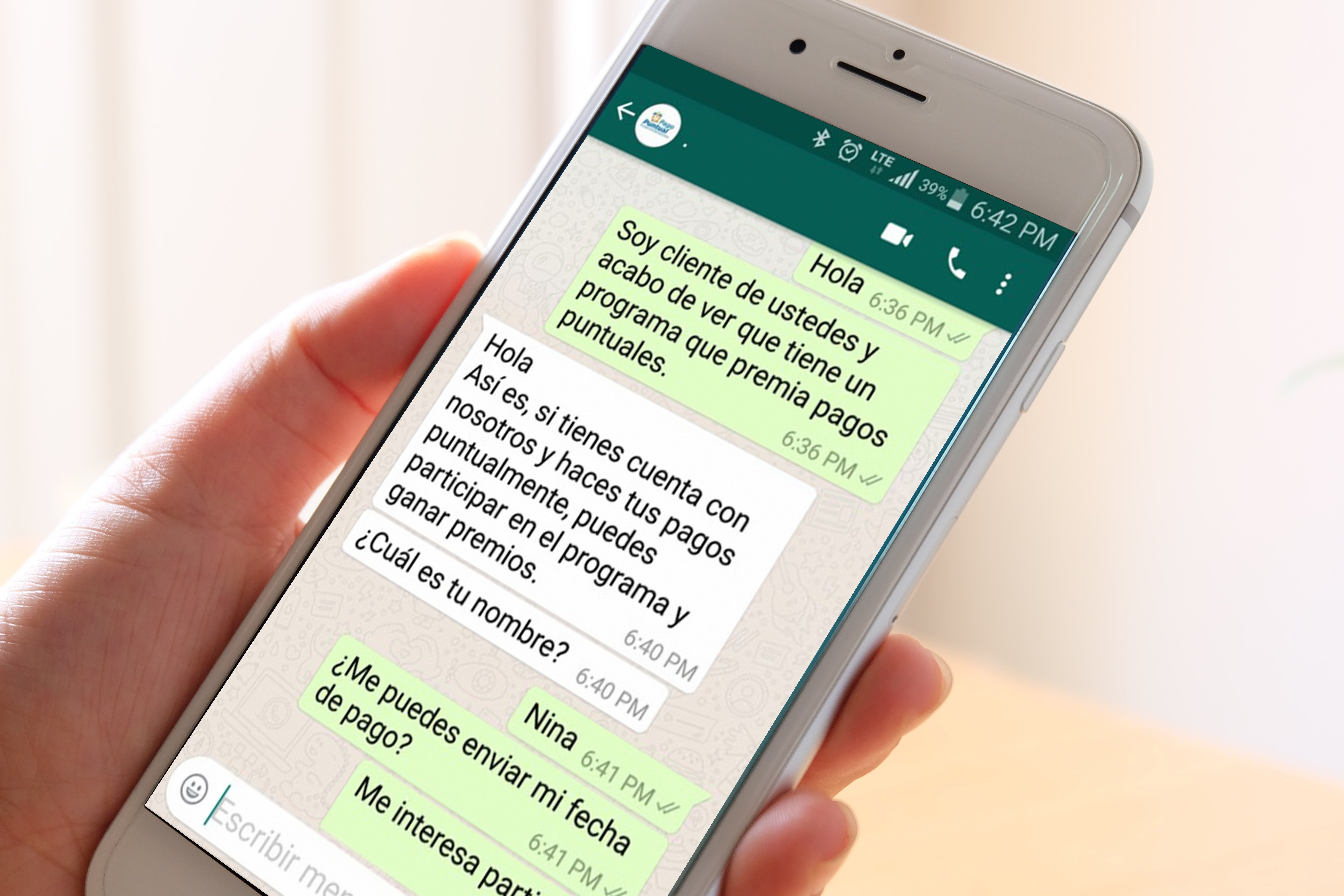7 ejemplos de WhatsApp for Business API