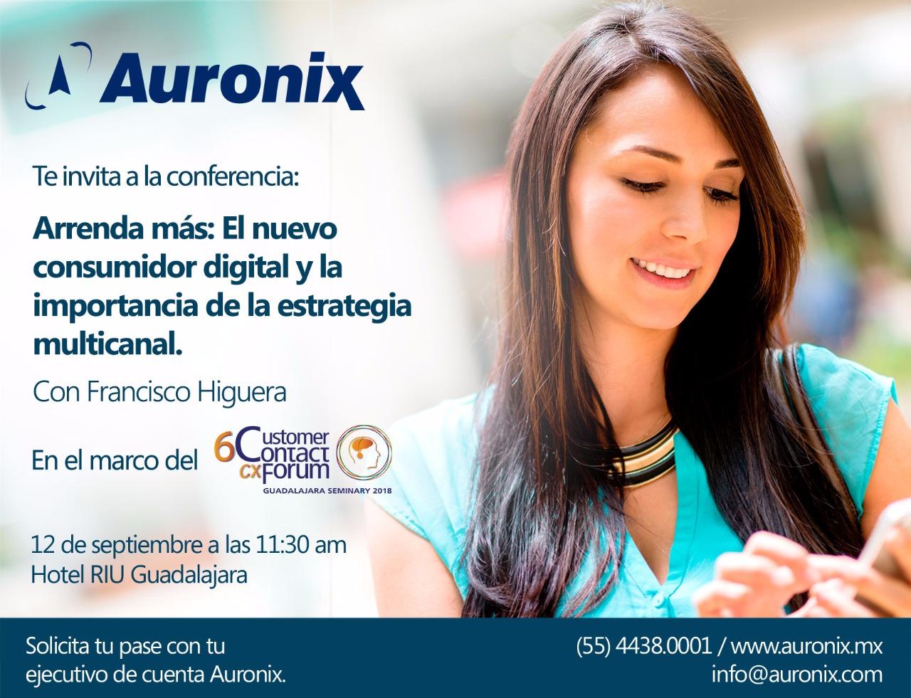 invitación Contact Forum Guadalajara